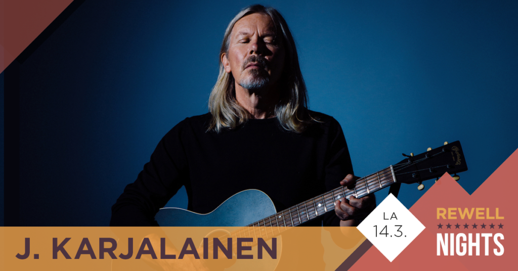 J. Karjalainen Vaasassa 14.3.2020